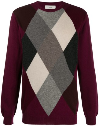 Pringle Argyle Cashmere Jumper