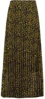 Just Female MOE Pleated skirt lemon