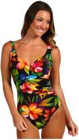 Miraclesuit Rainbow Brights Escape Swimsuit (Black) - Apparel