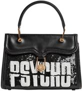 Olympia Le-Tan Psycho Mini Marguerite Leather Bag
