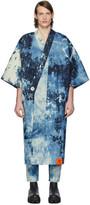 S.R. Studio. La. Ca. S.R. STUDIO. LA. CA. Indigo SOTO Hand-Bleached Denim Long Kimono