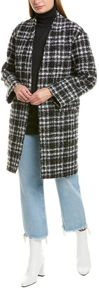 IRO Twisted Mohair & Wool-Blend Coat