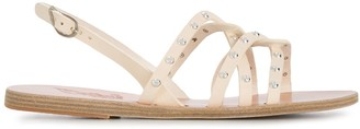 Ancient Greek Sandals Studded Strap Sandals