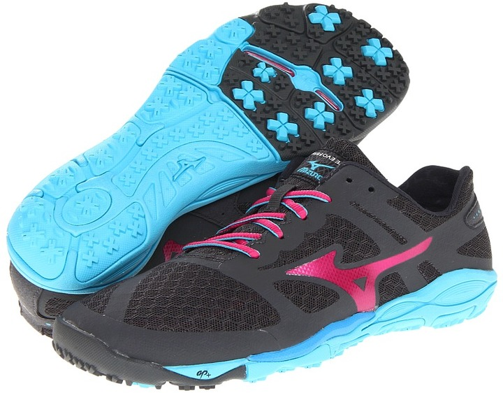 Mizuno Wave Evo Ferus (Dark Shadow/Beetroot/Blue Atoll) - Footwear
