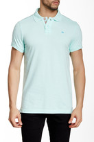 Micros Tailored Fit Short Sleeve Polo