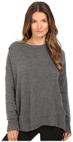 The Kooples 100% Cashmere Sweater with Destroy Details Women's Sweater