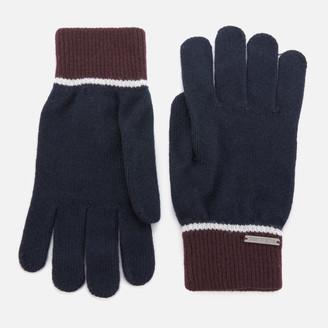 Ted Baker Men's Woolglo Knitted Colour Block Gloves