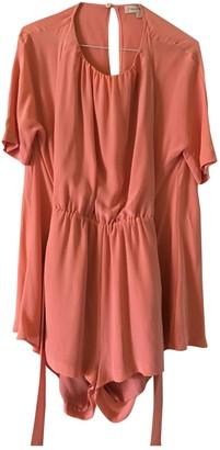 Paul & Joe Sister Pink Silk Jumpsuit for Women