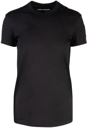 Paco Rabanne Logo Stripe T-Shirt