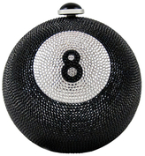 Judith Leiber Eight Ball Crystal Clutch