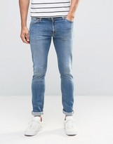 Nudie Jeans Skinny Lin Super Skinny Jeans Indigo Legend