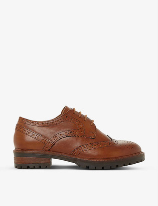 Dune Fearce leather brogues