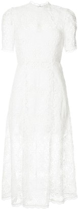 Alice McCall Diamond Veins lace midi dress