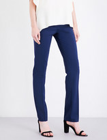 Theory Hartsdale straight stretch-wool trousers