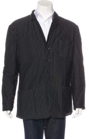 Jean Paul Gaultier Reversible Striped Jacket