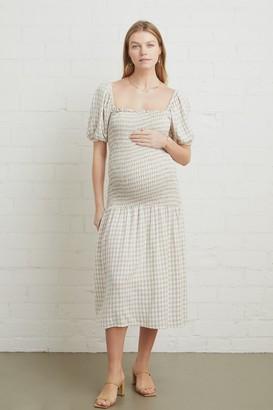 Maternity Linen Briar Dress