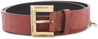 Gianfranco Ferré Pre Owned 2000s Logo Buckle Belt