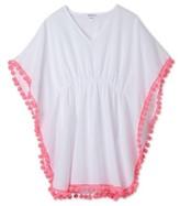 Stella Cove Toddler Girl's Pompom Cover-Up Poncho