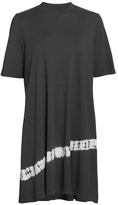 Raquel Allegra Mod Tie-Dye T-Shirt Dress