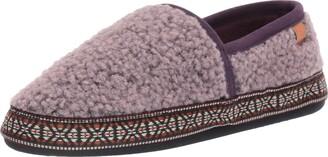 Acorn Women's Woven Trim Moc Slipper