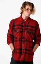 Brixton Durham Plaid Flannel Long Sleeve Button Up Shirt