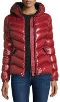 Moncler Anthia Hooded Wave Puffer Jacket