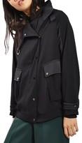 Topshop Women's Urban Popper Jacket
