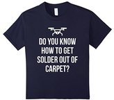 Women's Solder Out of the Carpet Funny Drone FPV Quadcopter T-Shirt Small