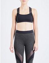 Koral Sling Versatility stretch-jersey and mesh sports bra