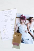 Lily Ashwell Bespoke Wedding Swatch Card