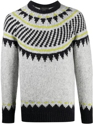 Roberto Collina Alpaca Wool-Blend Knitted Jumper