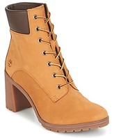 Timberland ALLINGTON 6IN LACE UP women's Low Ankle Boots in Brown
