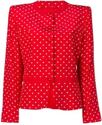 Valentino Pre-Owned 1980's/1990's polka dot dress