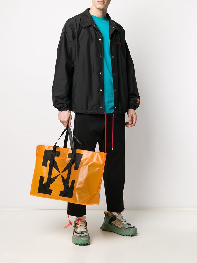 Thumbnail for your product : Off-White Arrows print commercial tote