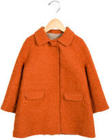 Caramel Baby & Child Girls' Bouclé Long Sleeve Coat