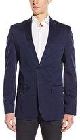 Calvin Klein Men's Slim Stretch Sateen Sportcoat