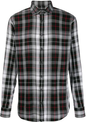 DSQUARED2 Checked Print Shirt