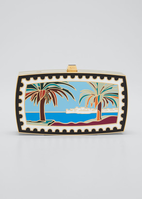 13BC x Mary Katrantzou Mykonos Beach Minaudiere Clutch Bag