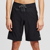 Ocean Current Men's Black Geo Board Shorts Black