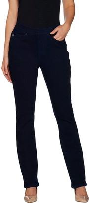 Belle By Kim Gravel Flexibelle Embellished Jeans - Petite