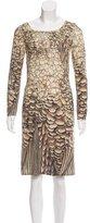 Philosophy di Alberta Ferretti Wool & Silk-Blend Dress