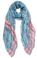 Hinge Women's Dream Floral Lace Wrap