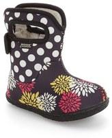 Bogs Infant Girl's 'Baby Bogs' Waterproof Faux Fur Lined Boot