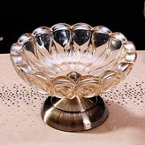 GTVERNH Classical European Glass Ashtray Fashion Creative Personality ig Crystal Ashtray Living Room Office Gifts Home