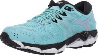 Mizuno Women's Wave Horizon 3 Running Shoe angel blue-lavender frost 7.5 B US