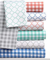 Charter Club CLOSEOUT! Damask Designs Printed Sheet Sets, 500 Thread Count, Created for Macy's
