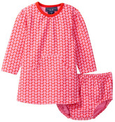 Toobydoo Kangaroo Pocket Dress & Bloomers 2-Piece Set (Baby Girls & Toddler)