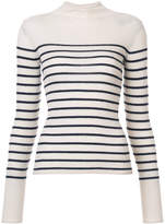 Vince striped rib knit sweater