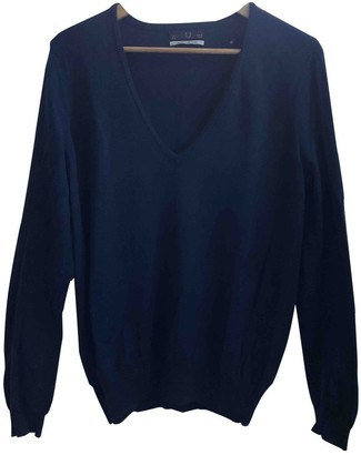 Fred Perry Blue Wool Knitwear for Women