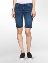 Calvin Klein Bermuda Mid-Blue Denim Shorts
